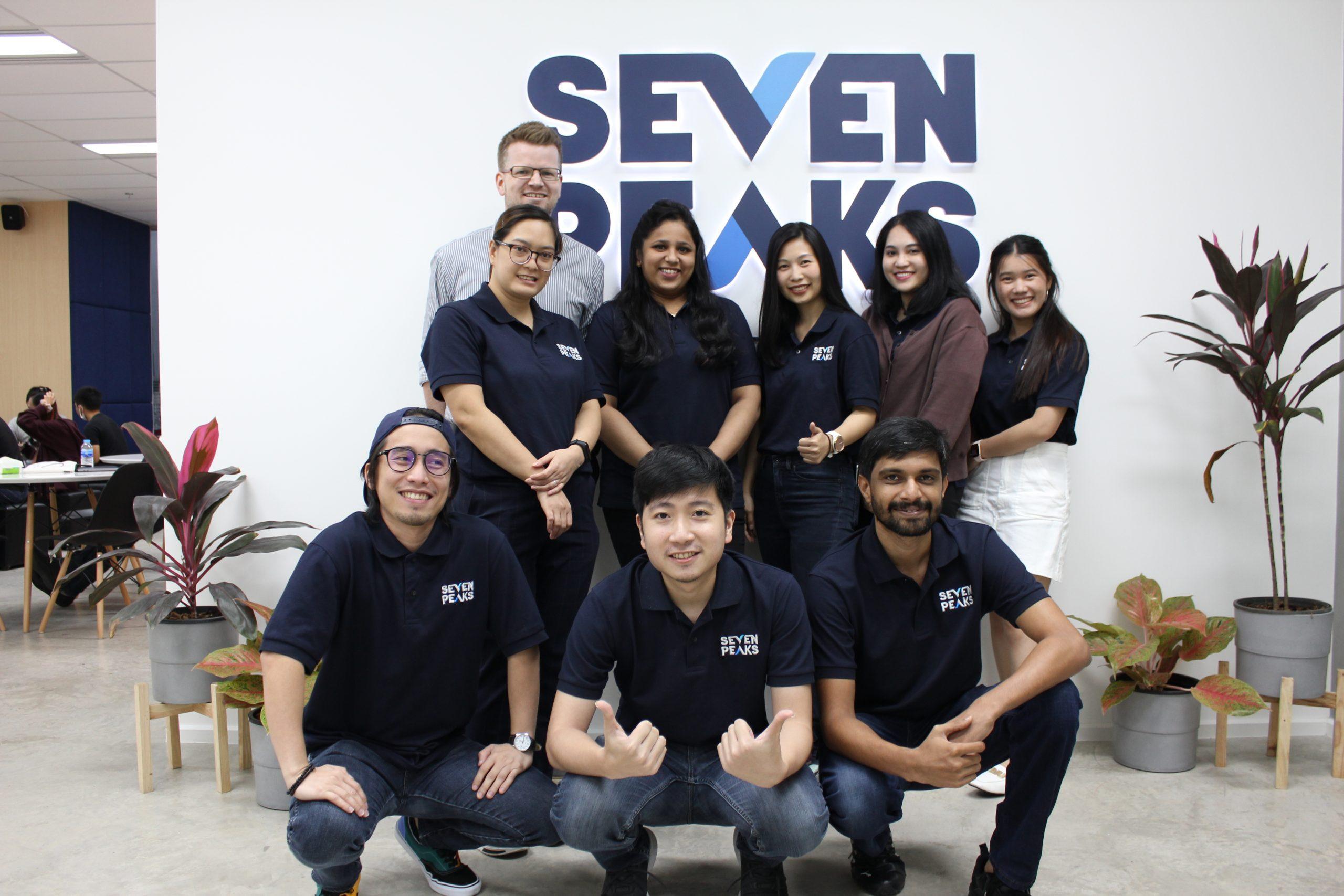 QA team at Seven Peaks Software, software company in Bangkok