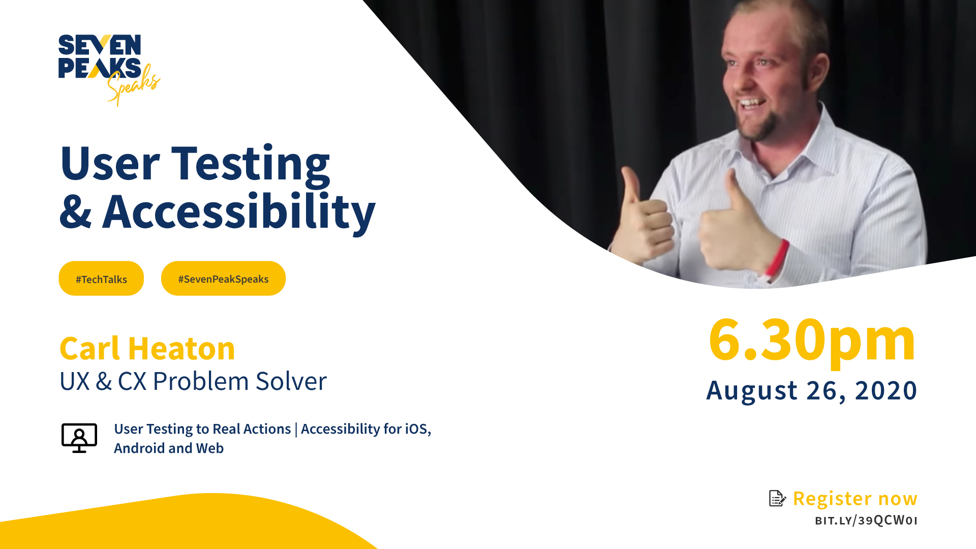 Seven Peaks Speaks User Testing & Accessibility