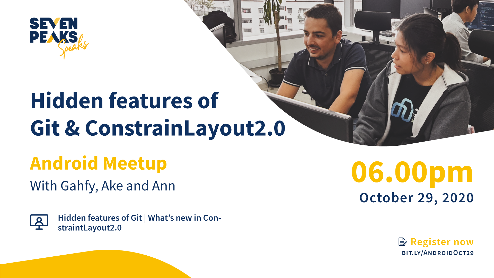 The hidden features of Git and ConstraintLayout 2.0