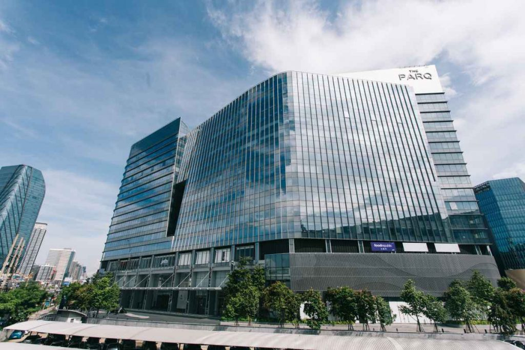 Seven Peaks Software office at The PARQ in Bangkok - contact us page
