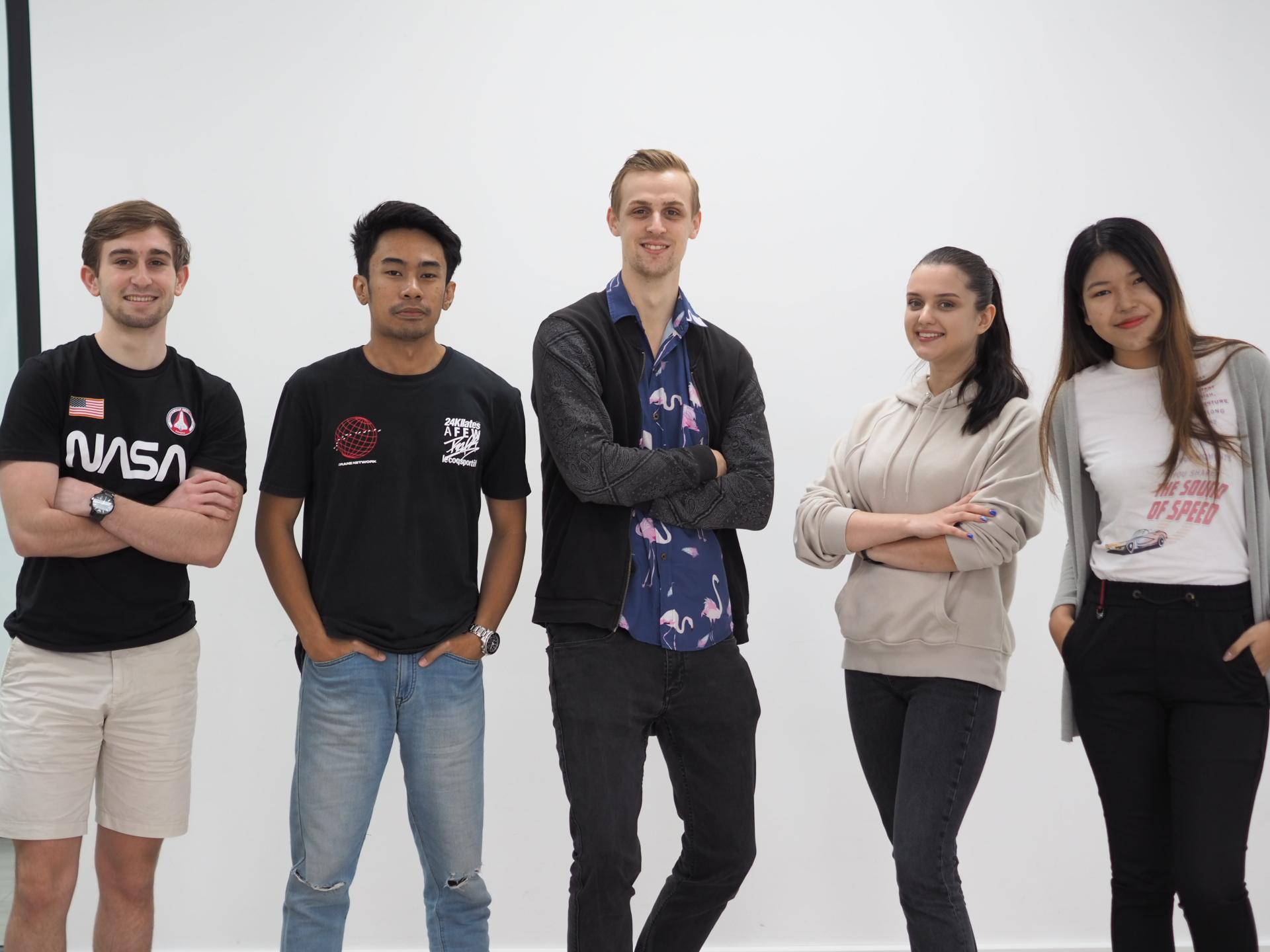 Digital marketing internship at Seven Peaks Software in Bangkok Thailand