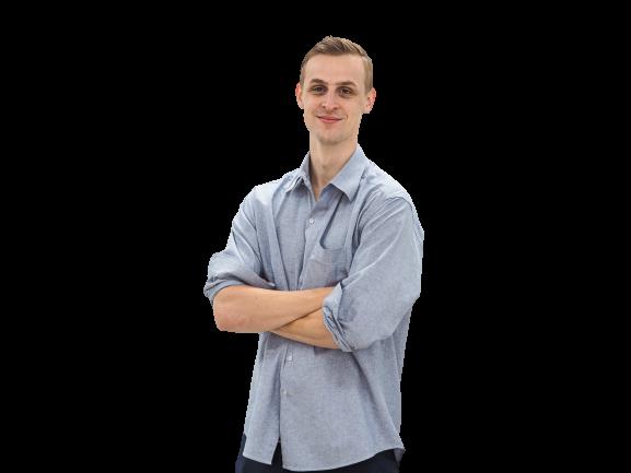 Markus Angst, Digital marketing intern at Seven Peaks Software in Bangkok Thailand