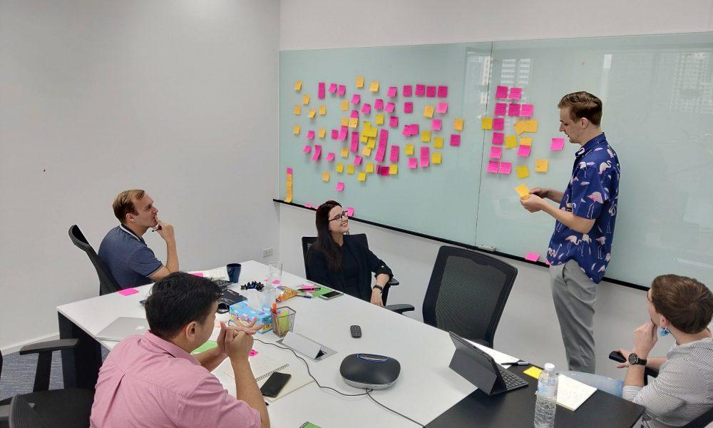 Digital marketing team at Seven Peaks Software in Bangkok Thailand