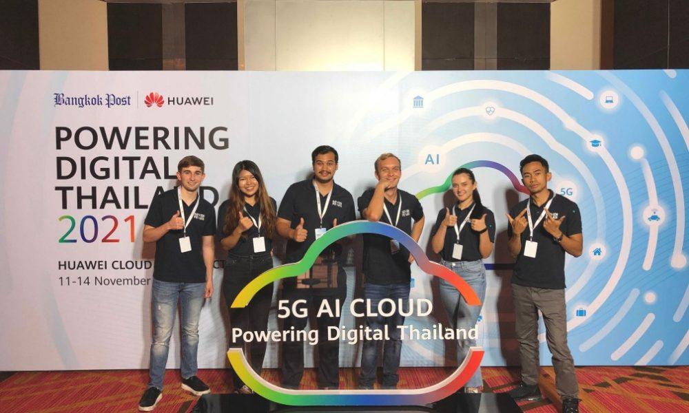 Seven Peaks Software team at Huawei Cloud: Powering Digital Thailand 2021