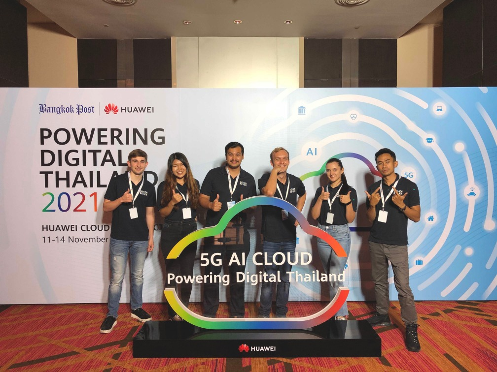 Seven Peaks Software team at Huawei Cloud: Powering Digital Thailand 2021