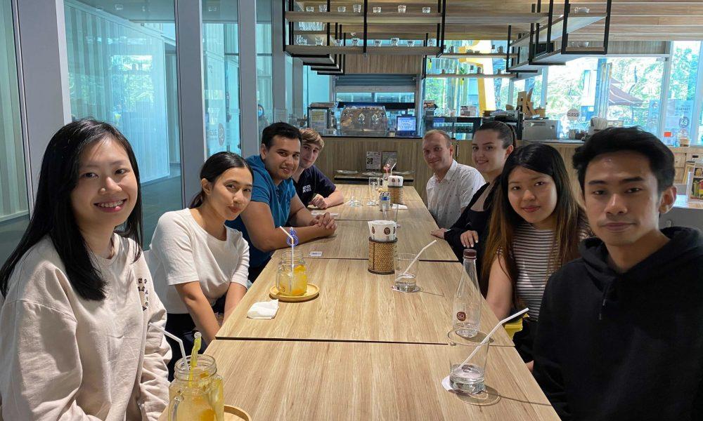 Internship Digital Marketing - Lunch with the marketing team