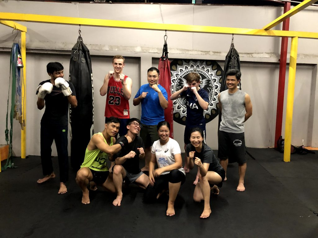 Internship Digital marketing - Muay Thai class with the Seven Peaks Software team