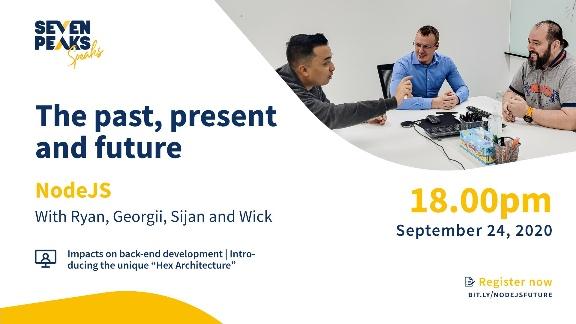 Seven Peaks Speaks Node js backend development meetup Bangkok tech events in 2020