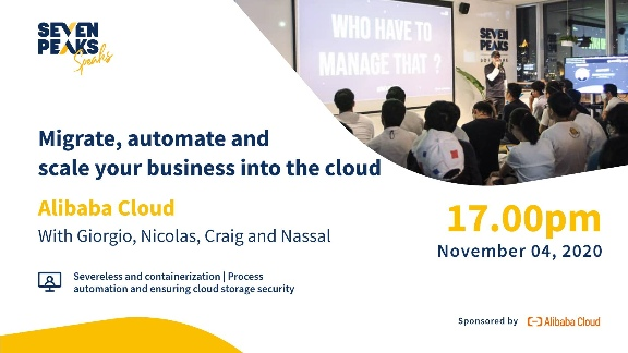 Seven Peaks Speaks cloud migration aws and azure meetup Bangkok tech events in 2020