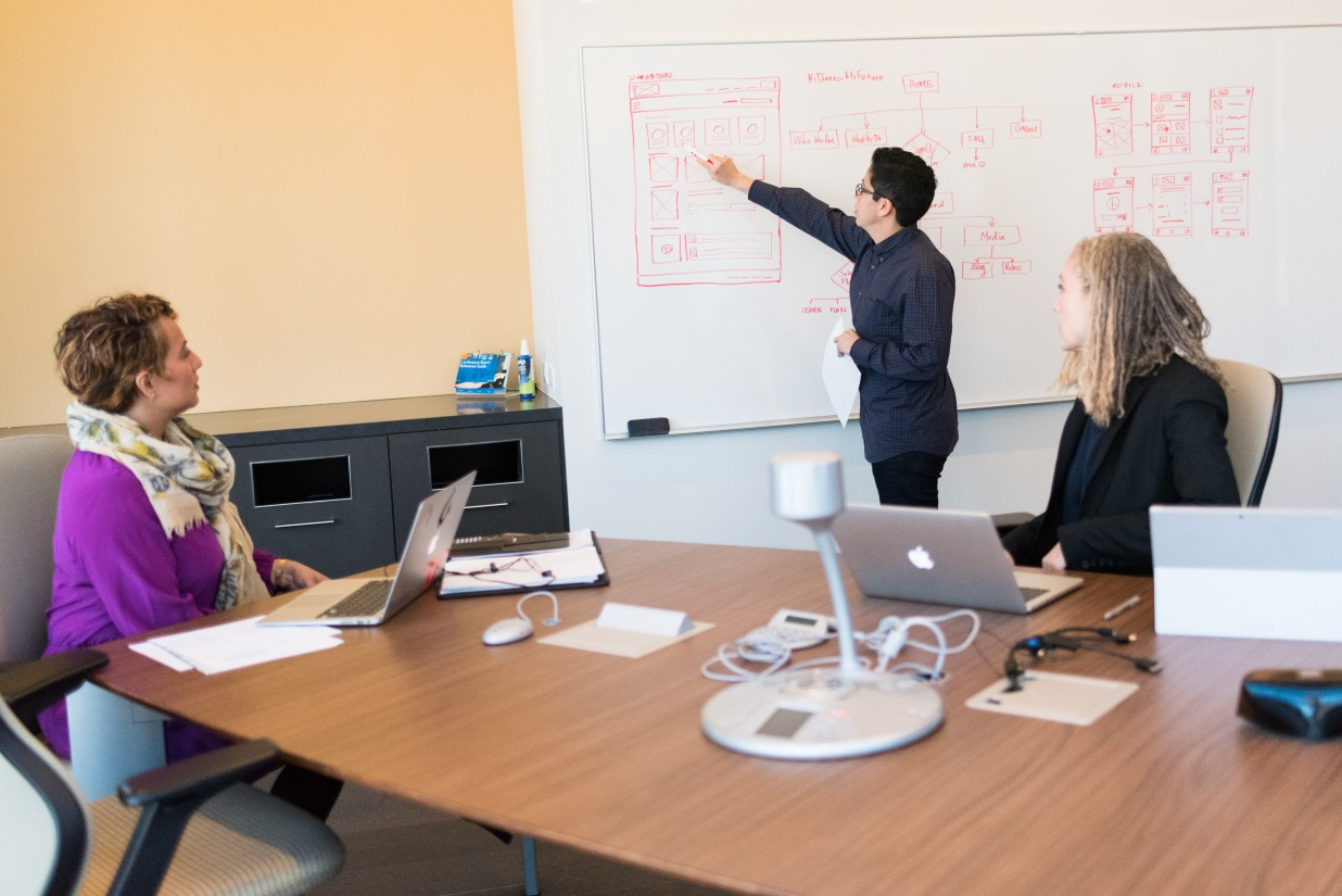 How do we as UX designers communicate our ideas effectively?